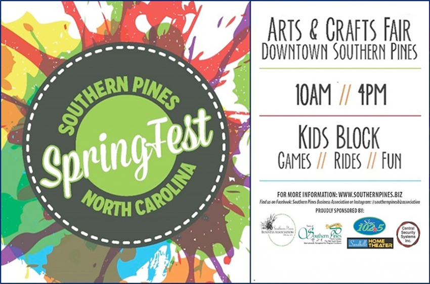Southern Pines Springfest 2020
