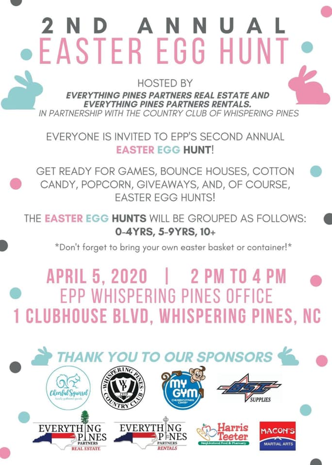 Everything Pines Partners Egg Hunt
